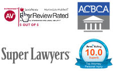 super lawyers, avvo, av rated