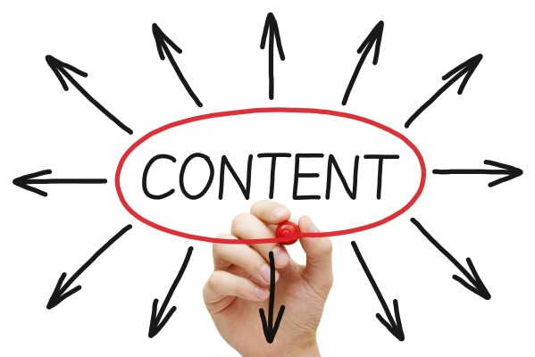 Content marketing broadcasts your message to wider targets